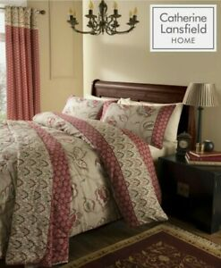 Catherine Lansfield, kingsize duvet set. BNIP. Cotton Rich. Kashmir Multi design