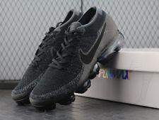 "NEW Nike Air VaporMax Flyknit Triple Black ""BLACK/DARK GREY"" 849558-007 EU39-45"