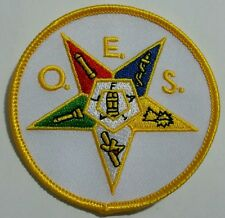 Order of Eastern Star (OES) Iron on Patch