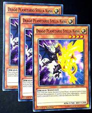 3x Drago Antico ☻ Comune ☻ YS15 ITD09 ITY08 ☻ YUGIOH 3x Drago Stella Luminosa Yu-Gi-Oh!