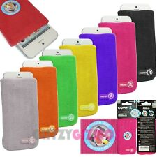 Pink Fashion Universal Cover it Protective Sock for iPhone iPod Smartphone