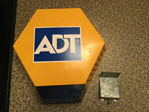 adt dummy alarm box yellow