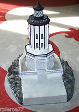 Danbury Mint: Beacons Of Sea: Los Angeles Harbor Lighthouse L.A. California Euc!