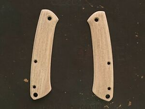 Custom Wood Scales for Benchmade Proper 318/319 - RubberWood #005