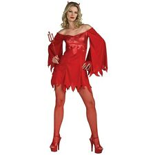 Lucifer's Lady Devil Costume Halloween Fancy Dress