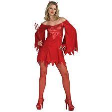 Lucifer's Lady Devil Costume Halloween Fancy Dress