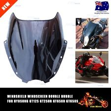 Windshield Windscreen Hyosung GT125 GT250R GT650R GT650S Double Bubble Screen
