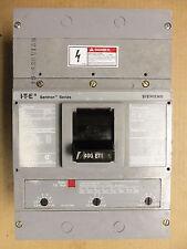 SIEMENS JXD6-ETI 3 pole 400 amp 600v JXD63H400 Motor Circuit Interruptor