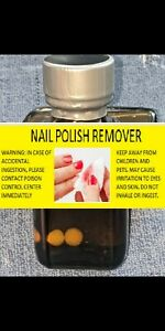 10ML- Nail Polish Remover- Solvent Cleaner -- FRESH And MADE IN USA
