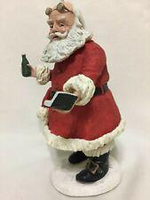 """Soda Pop"" Santa by Duncan Royale, Signed, Coa, Used, 2 Spots Flaws"