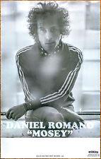 DANIEL ROMANO Mosey Ltd Ed RARE New Tour Poster +FREE Folk Rock Indie Poster!