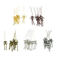 30x Human Skeleton Body DIY Dolls Pendant Charms Jewelry Making Necklace DIY
