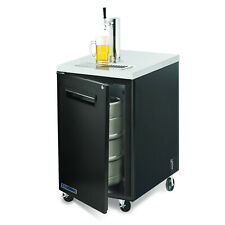 Maxx Cold Commercial 23.4� Direct Draw Beer Cooler Kegerator 1 Taps Holds 1 Kegs