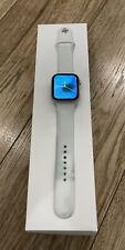 Apple Watch Series 4GPS + Cellular44mm Silver Aluminium Case +White Sport Band