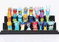 24pcs Set Slugterra Slug Terra Elemental Mini Action Figure Doll Toy Decoration