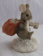 Charming Tails Figurine Mail Mouse In Box No 87573 Retired In 1996