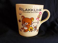 Rilakkuma Chocolate and Coffee Mug Tea 2013 San-X