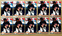 1992 UD FANFEST #35 KIRBY PUCKETT ~ 10 CARDS LOT ~ HALL OF FAME INDUCTEE