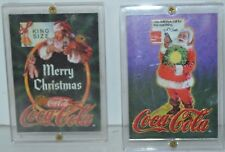 Vintage Coca-Cola Trading Cards 1995 Lot of 2 In Hard Case 3 and 6