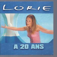 LORIE - CD PROMO 1 titre a 20 ans