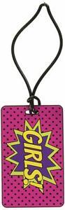 Superhero Puffy 3D Girls Hall Pass Ashley Products