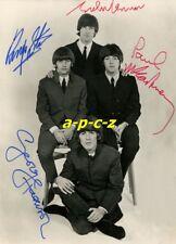 BEATLES - autogramme, Fotokopie/copy, 10x15 cm
