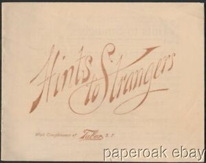 ca1890 I.W. Taber San Francisco Photographer Advertising Brochure