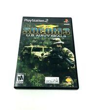 Socom III Us Navy Seals PS2 Playstation 2 no manual