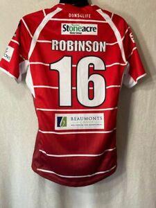 Doncaster Rugby League 2014-2015 Match Worn/Issue Shirt - Craig Robinson-XL