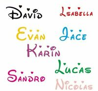 Customized Personalized Name Children Home Decor Nursery Kids Room Vinyl Sticker