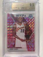 2019-20 Mosaic Lebron James MVP Pink Camo BGS 9.5 TRUE GEM MINT