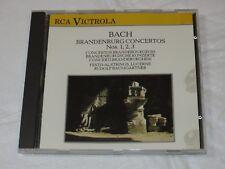 Bach Brandenburg Concertos Nos 1, 2, 3 CD RCA Victrola 1988 Festival Strings Luc
