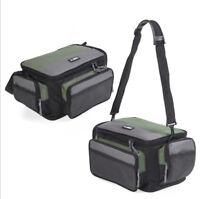 Carp/Coarse/Fly Fishing Tackle Bag Large Waterproof Shoulder Pack Carry Storage