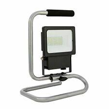 LED Baustrahler Arbeitsleuchte tragbarer Strahler mit Ständer 10 Watt 1000 Lumen