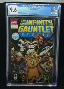 MARVEL - THE INFINITY GAUNTLET - 1 - 7/91 - CGC 9.6 - WHITE PAGES