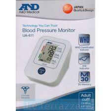 Misuratore di pressione and A&D Medical  sfigmomanometro da braccio UA-611 AND