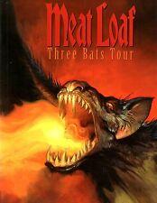 MEAT LOAF 2007 THREE BATS TOUR CONCERT PROGRAM BOOK / NEAR MINT 2 MINT