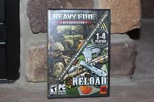 HEAVY FIRE AFGHANISTAN RELOAD 2 TOP-NOTCH SHOOTER GAMES IN 1 BOX 1-4 PLAYERS