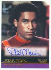 "PHIL MORRIS ""LIMITED AUTOGRAPH CARD A11"" STAR TREK MOVIES"