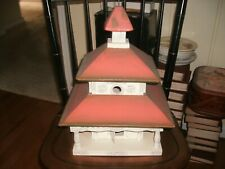 Bird House Custom Built w/Flag Vane