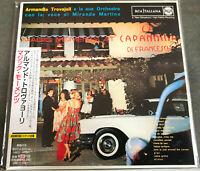 "A.Trovajoli - MAGIC MOMENTS AT ""LA CAPANNINA""  Japan Mini-LP CD  BVCM-35330  OBI"