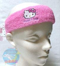SANRIO HELLO KITTY KAWAII Stretchable Hair Turban Band Pile Cloth One Size F.A