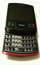 Motorola Hint QA30 Cellular One Red Slider Charger Computer Port Manual