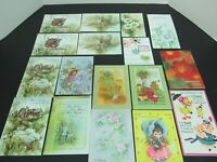 Lot 17 Unused Vintage Greeting Cards - Some Duplicates - ADORABLE Mother's Day