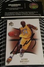 Kobe Bryant Autograph/Signed Basketball Card - COA
