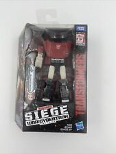 Transformers SIEGE War for Cybertron Deluxe Class Autobot Sideswipe - NEW!