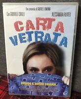 Carta vetrata (1999) DVD Nuovo Sigillato Gabriele Cirilli Fontana Filoteo