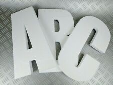 3D Polystyrene Decorative Letters/Numbers - 600mm high X 25mm thick