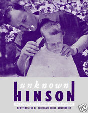 Unknown Hinson 2007 Gig Poster : Powerhouse Factories