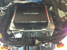 Harley batwing amp mount  fits rockford fosgate pbr300x2 pbr300x4 Hogtunes J&M